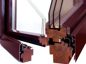Wood-aluminum-windows